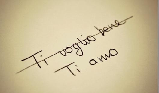 ti voglio bene ti amo